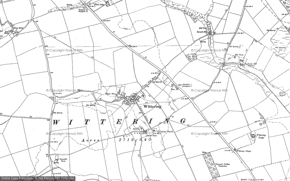 Wittering, 1885 - 1899