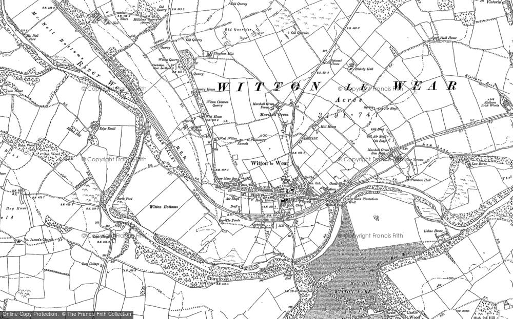 Witton-le-Wear, 1896