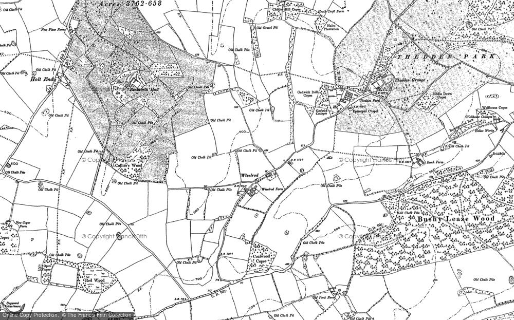 Wivelrod, 1894 - 1895