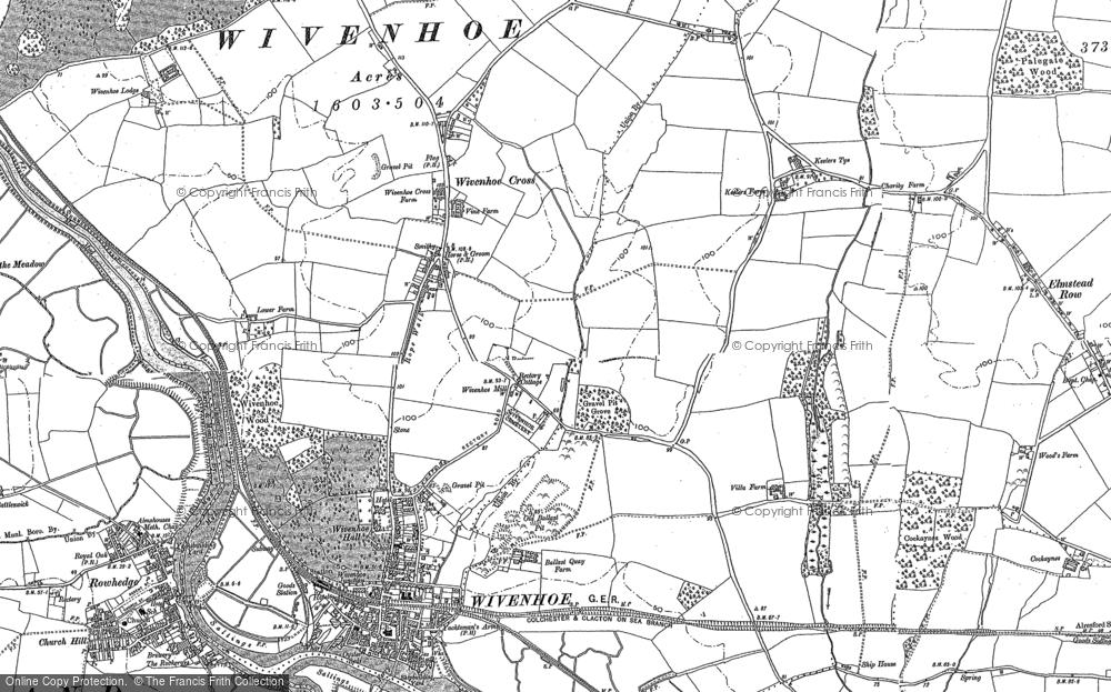 Wivenhoe, 1896