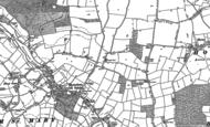 Old Map of Wolferd Green, 1880 - 1884
