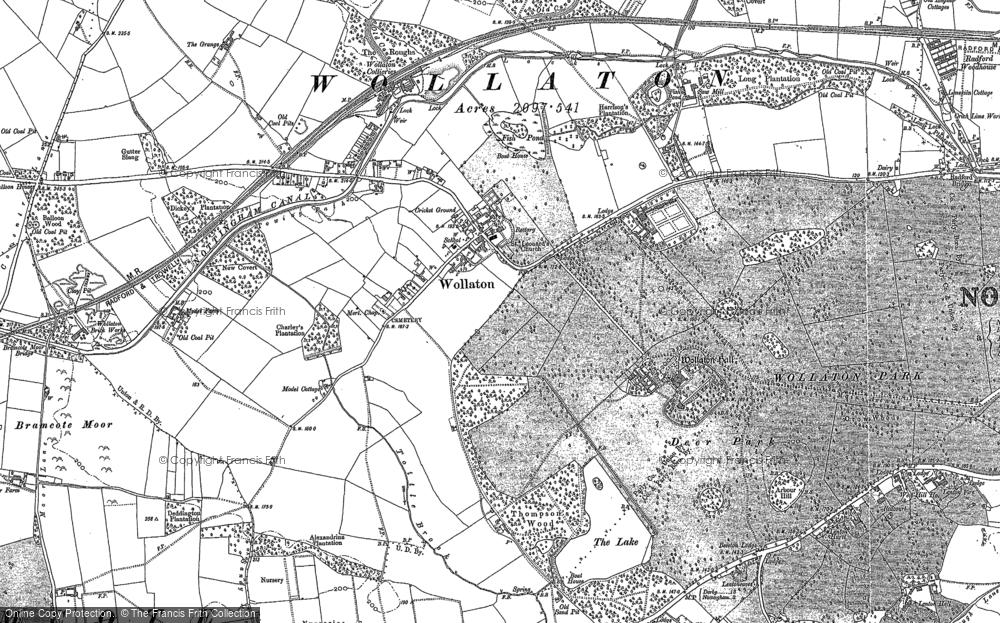 Wollaton, 1881 - 1899