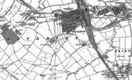 Old Map of Wolverton, 1898