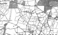 Old Map of Wood Bevington, 1885 - 1903
