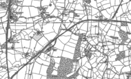 Old Map of Wood End, 1883 - 1901