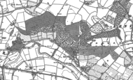 Old Map of Wood Norton, 1884 - 1885
