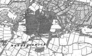 Old Map of Woodbastwick, 1881