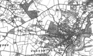 Old Map of Woodbridge, 1881