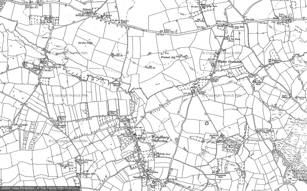 Woodbury Salterton, 1888
