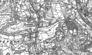Old Map of Woodchester, 1882