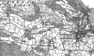 Old Map of Woodcombe, 1902