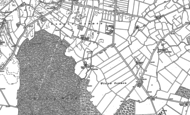 Old Map of Woodfield Ho, 1890