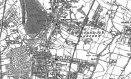 Old Map of Woodford Green, 1895