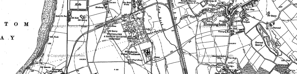 Old map of Kells in 1923