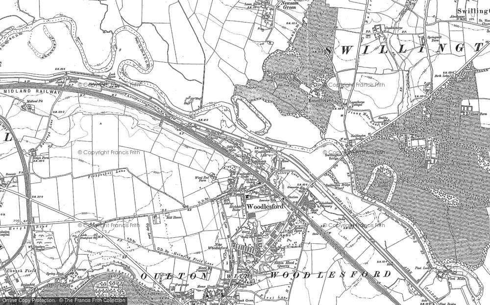 Woodlesford, 1890 - 1892