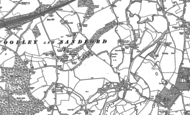 Old Map of Woodley Green, 1898 - 1910