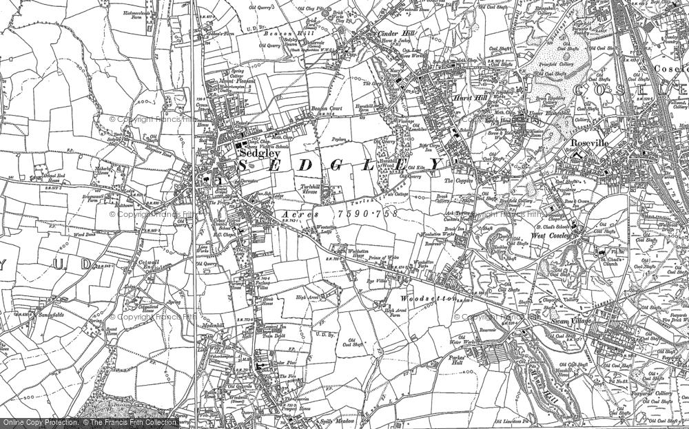 Woodsetton, 1881 - 1901