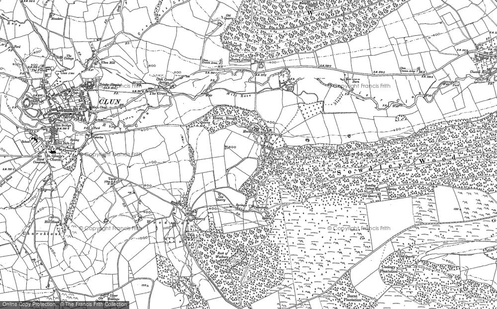 Map of Woodside, 1883
