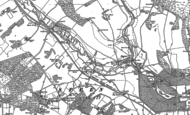 Old Map of Woodspeen, 1898