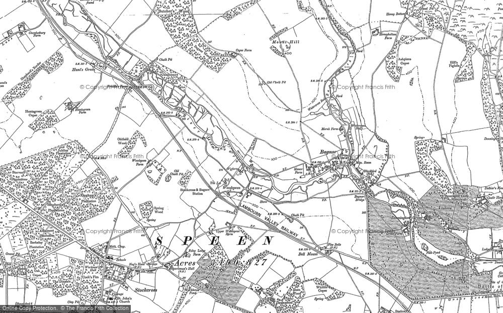 Woodspeen, 1898