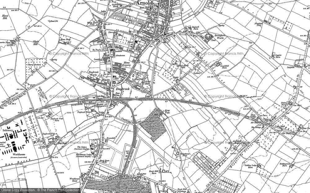 Woodthorpe, 1881 - 1899