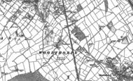 Old Map of Woodthorpe, 1883