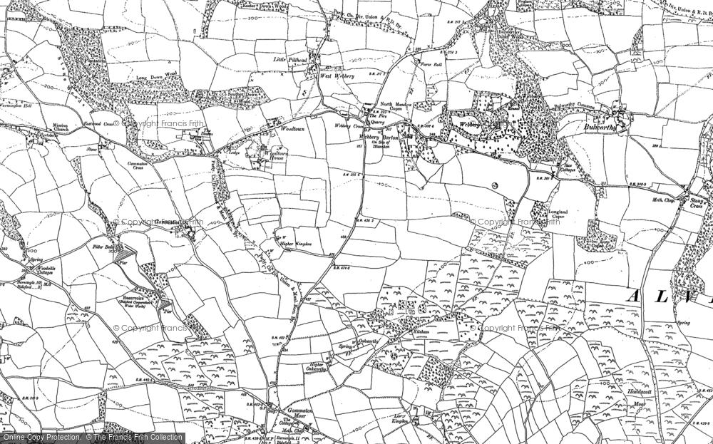 Woodtown, 1886