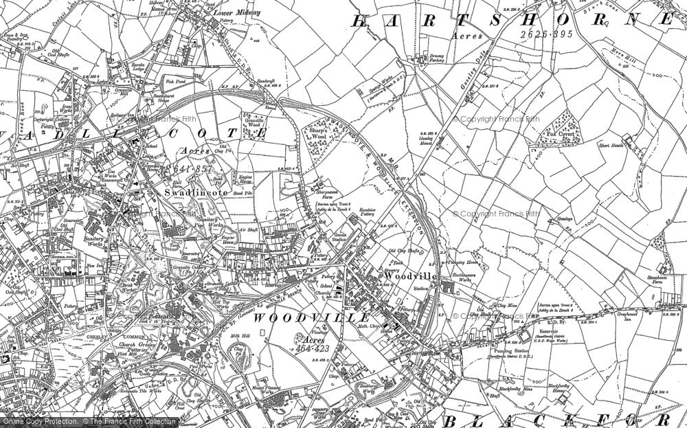 Woodville, 1900 - 1901