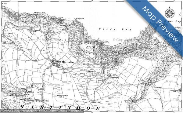 Historic map of Bonhill Top