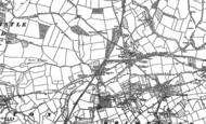 Old Map of Woofferton, 1885 - 1902