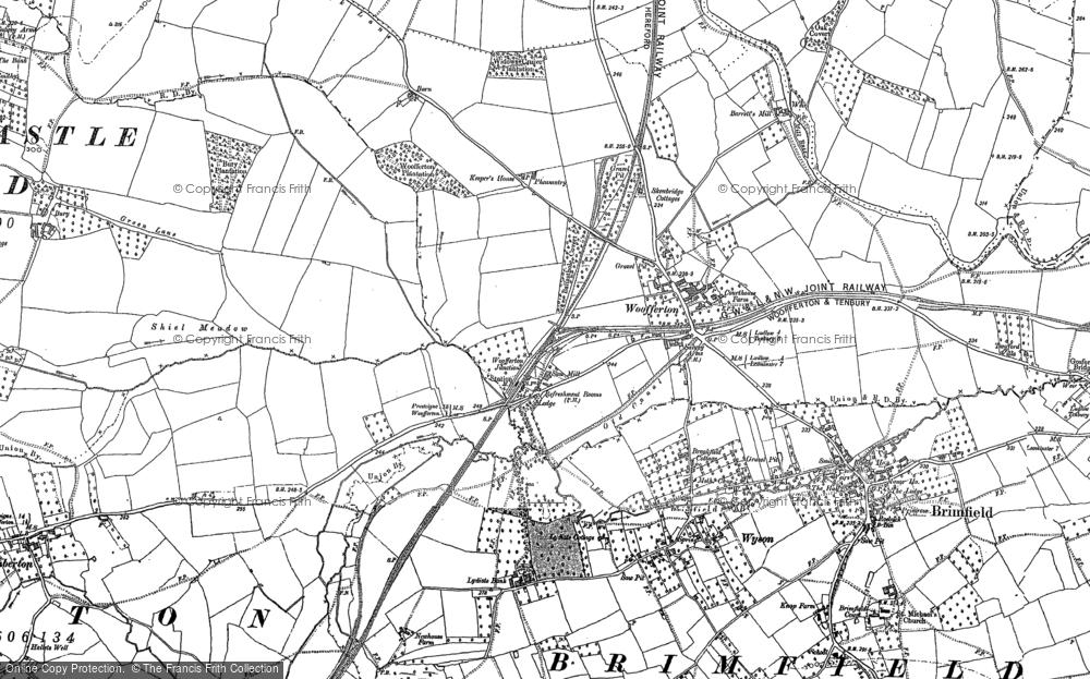 Woofferton, 1885 - 1902