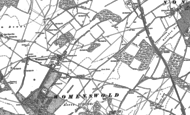 Old Map of Woolage Village, 1896