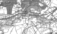 Old Map of Woolhampton, 1898 - 1909