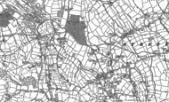 Old Map of Woolley Moor, 1879