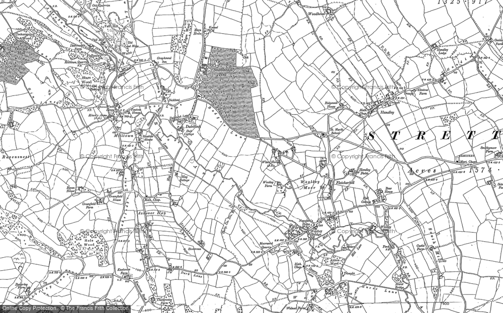 Woolley Moor, 1879
