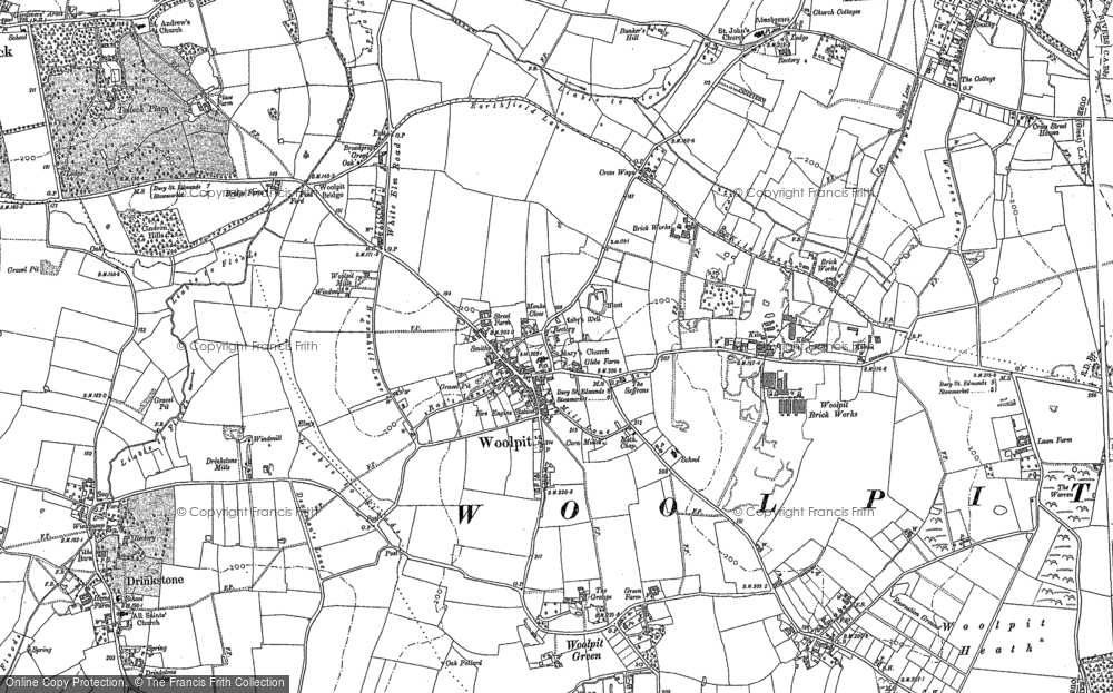 Woolpit, 1883