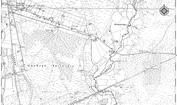 Old Map of Woolsbridge, 1900