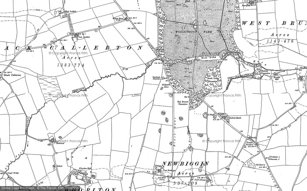 Woolsington, 1894 - 1895