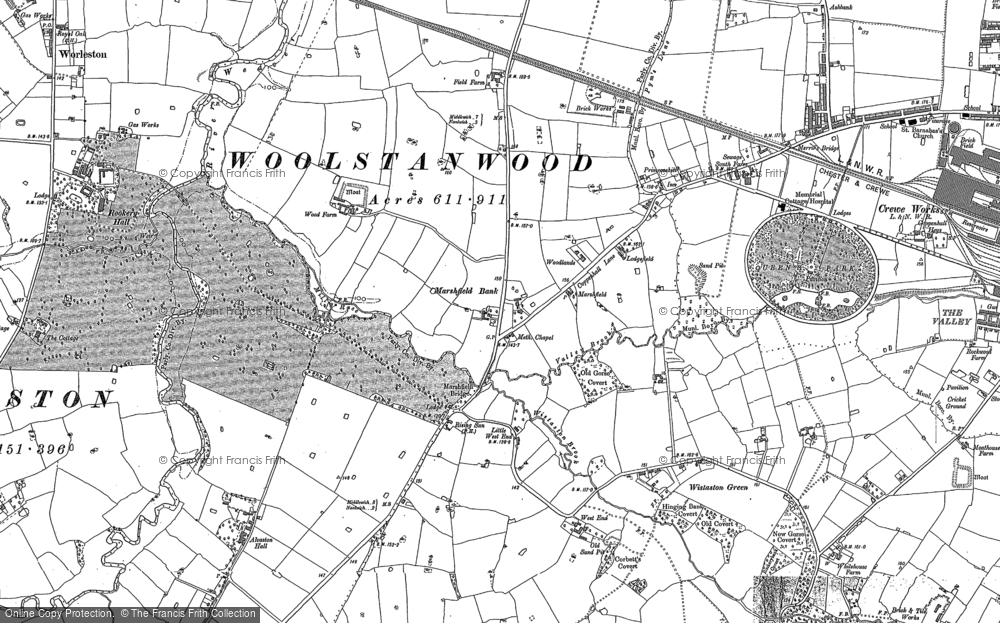 Woolstanwood, 1897