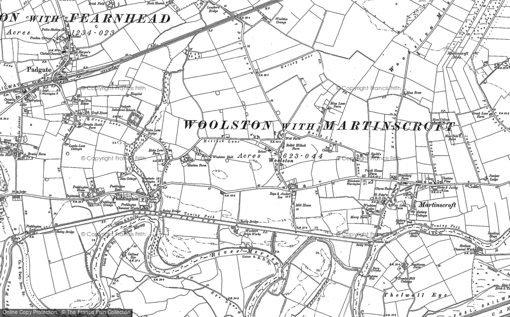 Old Map of Woolston, 1894 - 1905 in 1894