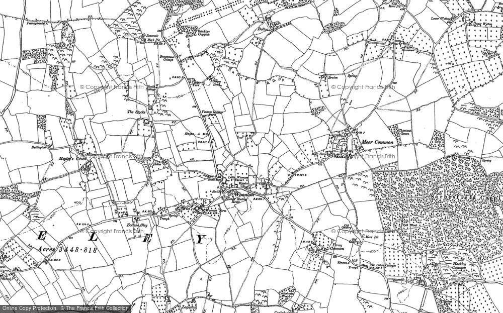 Woonton, 1886