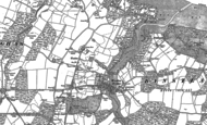 Old Map of Wootton, 1896