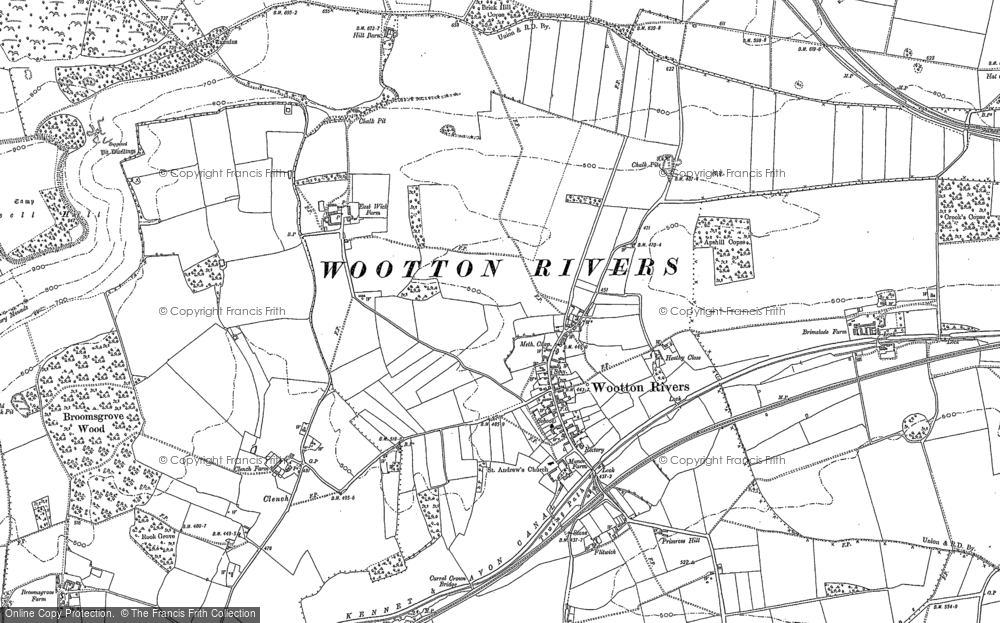 Wootton Rivers, 1899