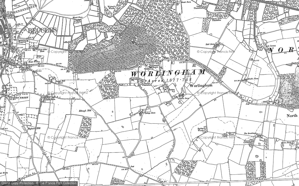 Worlingham, 1903