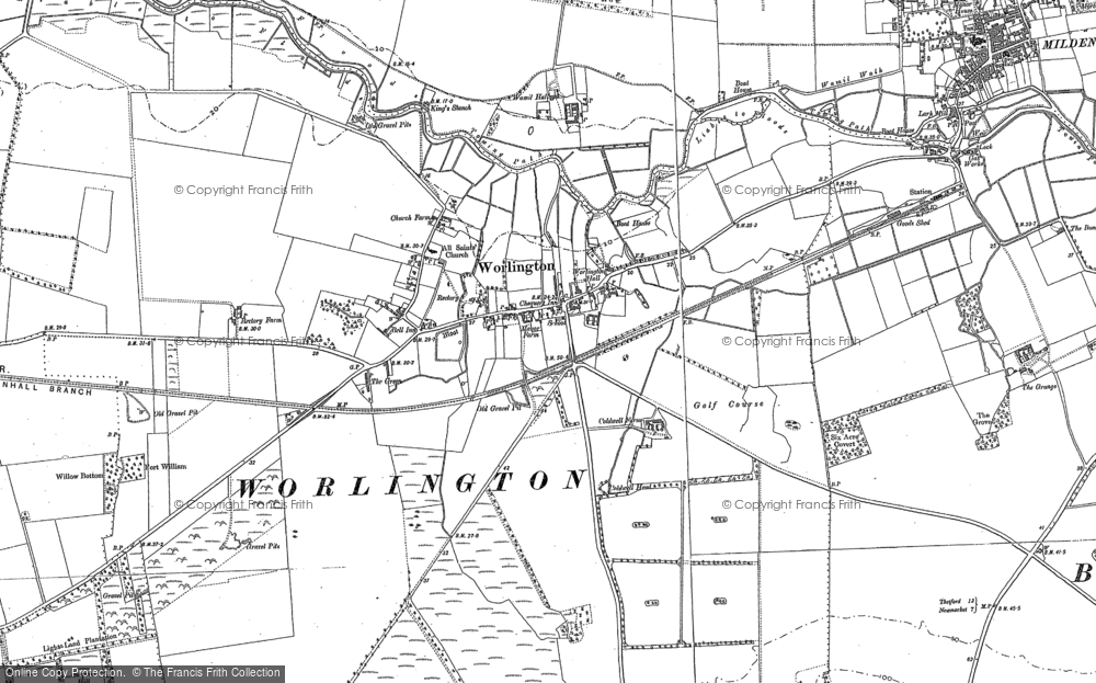 Worlington, 1882 - 1901