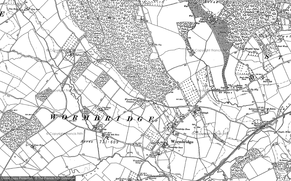 Wormbridge, 1886