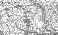 Old Map of Wormhill, 1879 - 1880