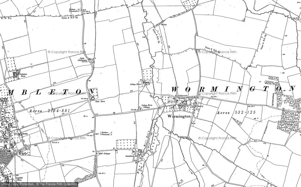 Wormington, 1883
