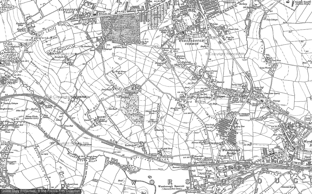 Worsbrough Common, 1851 - 1890