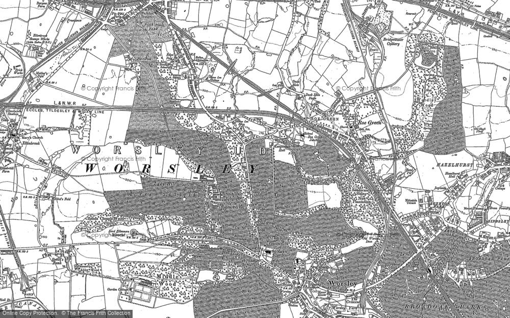 Worsley, 1889 - 1891